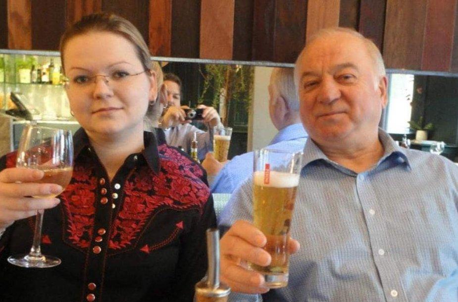Julija ir Sergejus Skripaliai