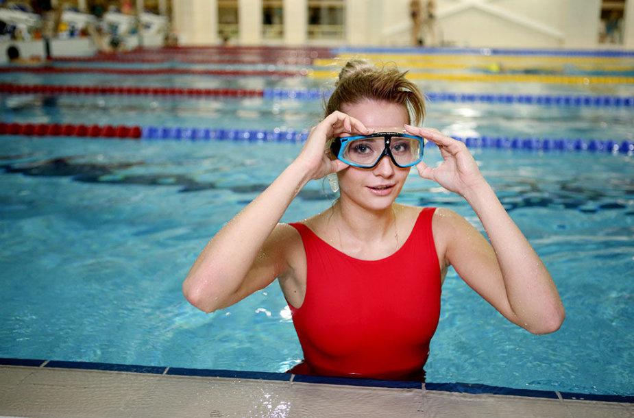 Rūta Elžbieta Mazurevičiūtė baseine