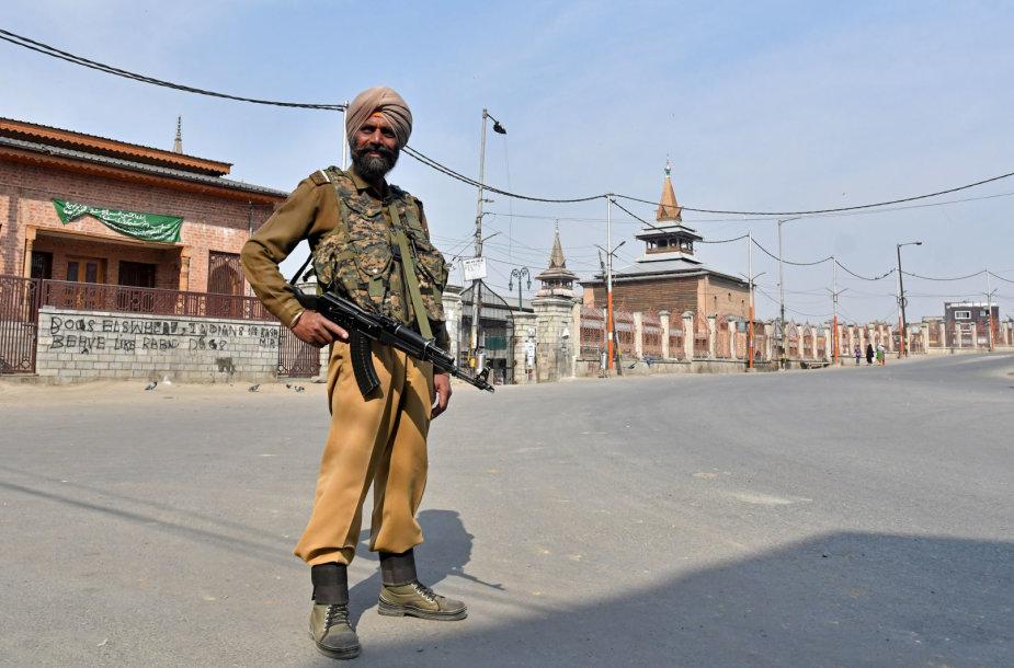 Indas policininkas Kašmyre