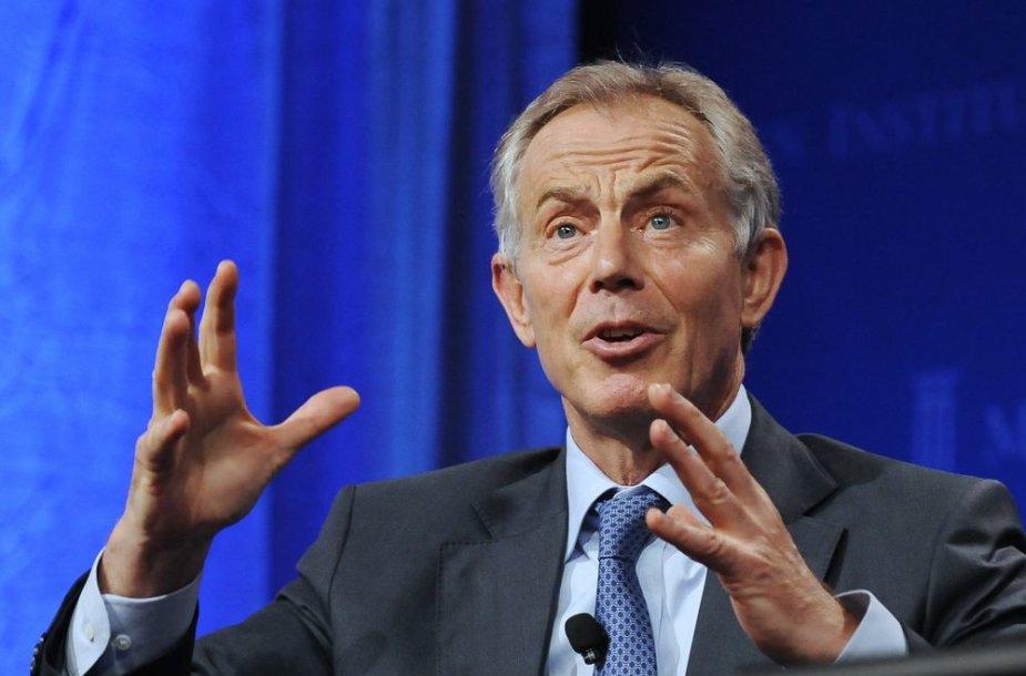 Buvęs britų ministras pirmininkas Tony Blairas