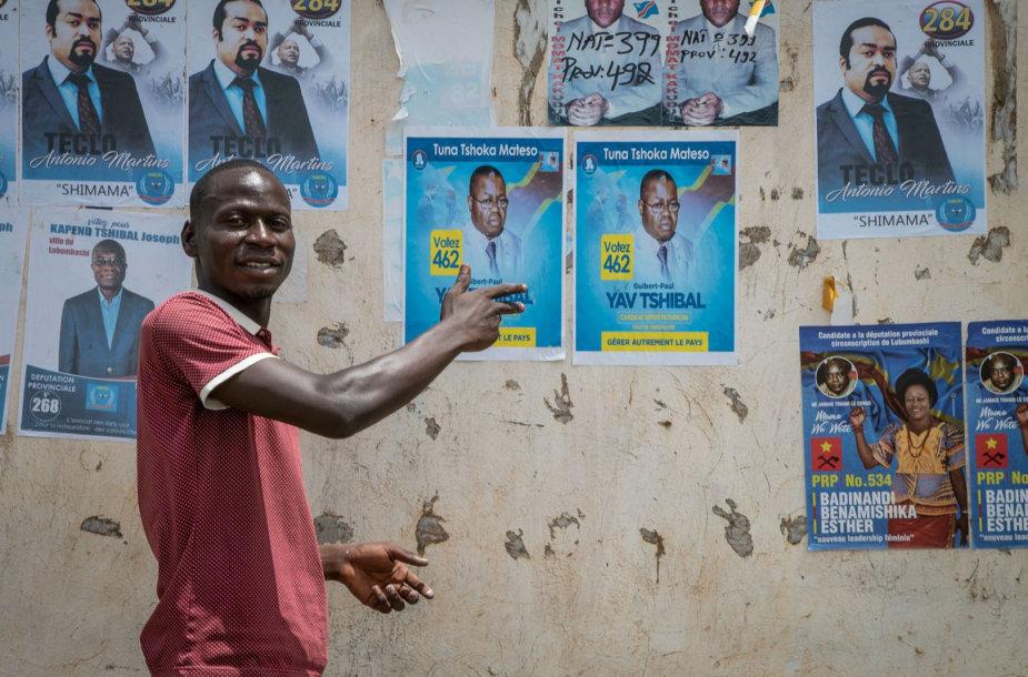 Rinkimų agitacija Kongo Demokratinėje Respublikoje