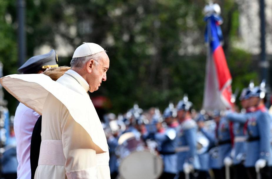 Popiežius Pranciškus Čilėje