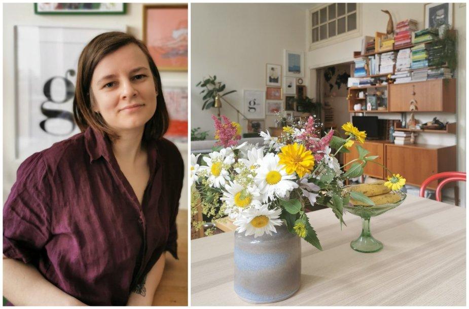 Sigita Petrunina namą iškeitė į butą Vilniaus centre