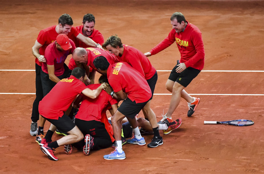 Belgijos teniso rinktinė