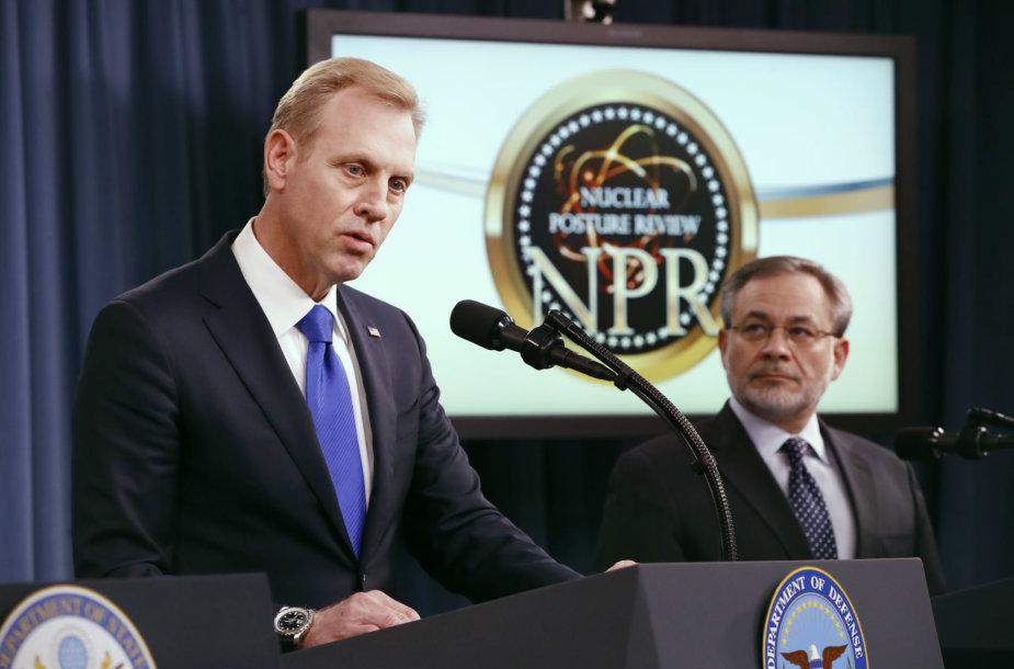 JAV laikinasis gynybos sekretorius Patrickas Shanahanas