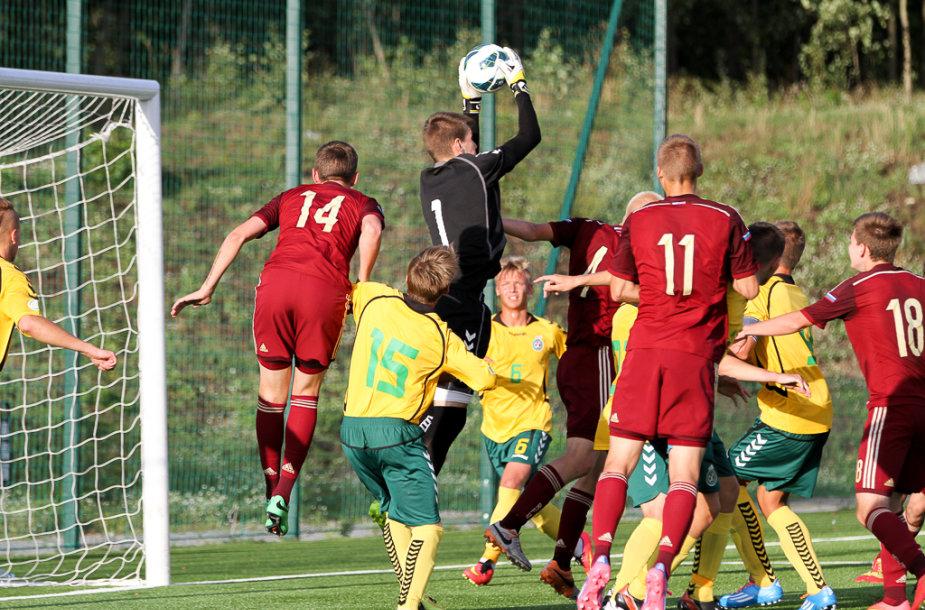 Lietuvos jaunių futbolo rinktinė