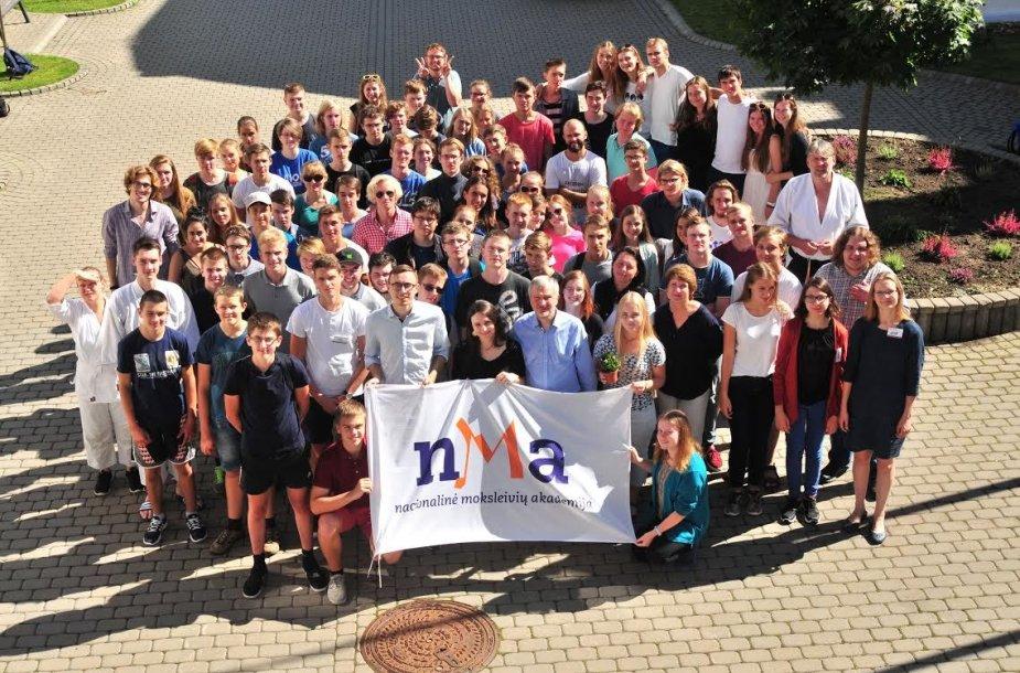Nacionalinės moksleivių akademijos vasaros stovykla
