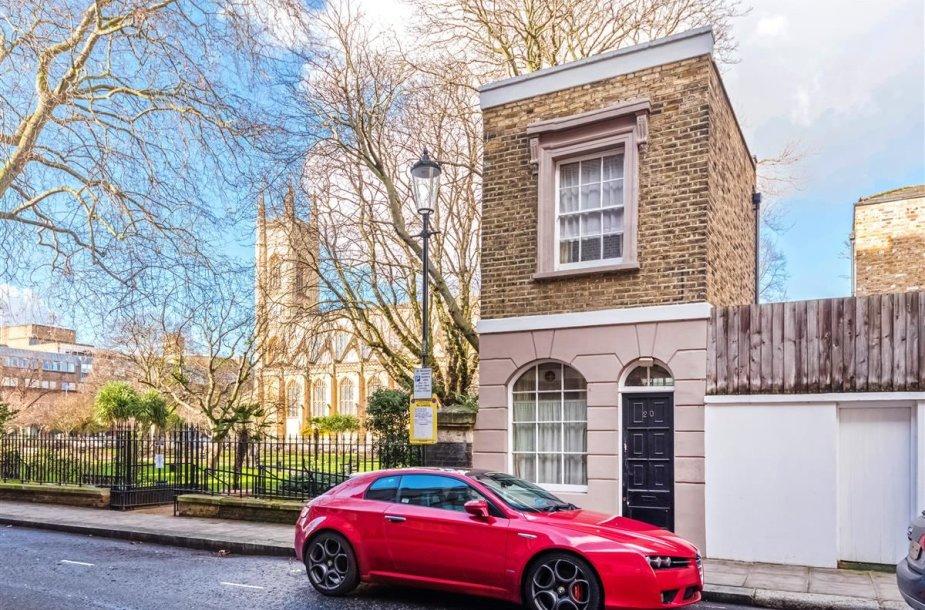 Parduodamas namas Londone