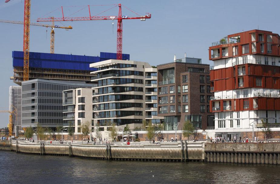 HafenCity – didžiausias Europoje miesto atnaujinimo projektas