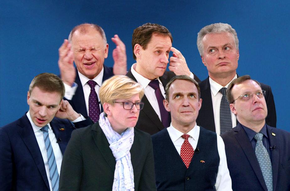 Kandidatai į prezidentus