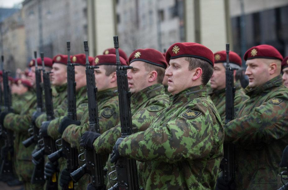 24-osios Krašto apsaugos savanorių pajėgų įkūrimo metinės.