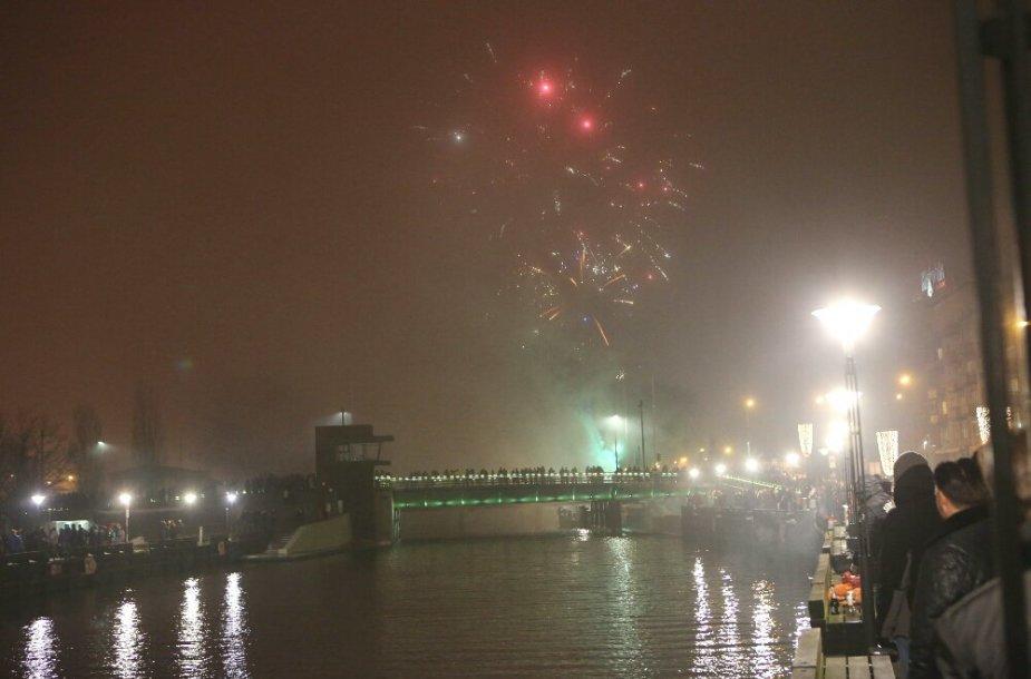 Naujųjų metų sutikimas Klaipėdoje