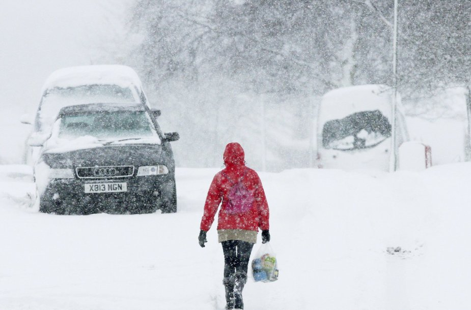 2013 m. žiema Didžiojoje Britanijoje