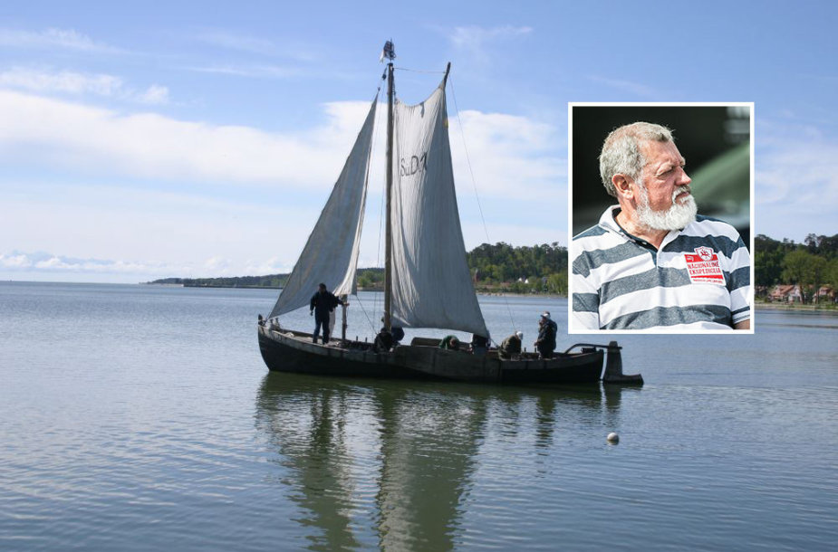 Kuršių mariose nuskendęs laivas buvo istorinis kurėnas