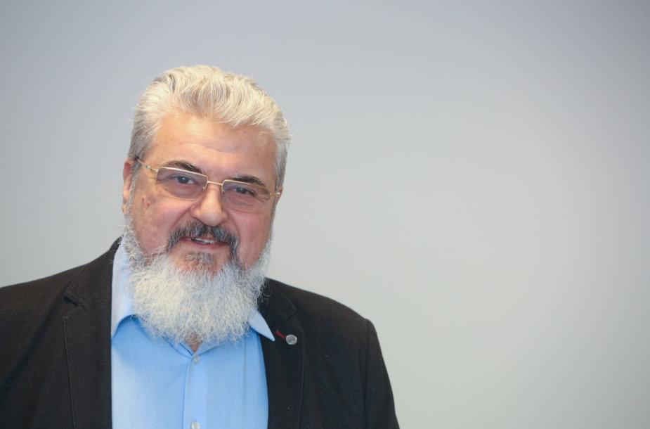 """""""Dujotekanos"""" buvęs vadovas Vladimiras Orechovas teisme"""