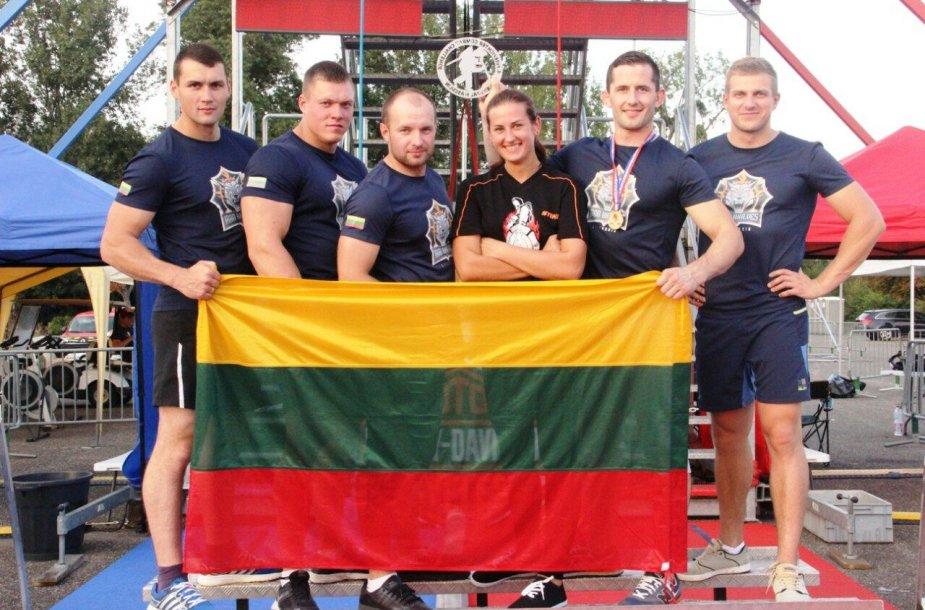 Lietuvos ugniagesių komanda