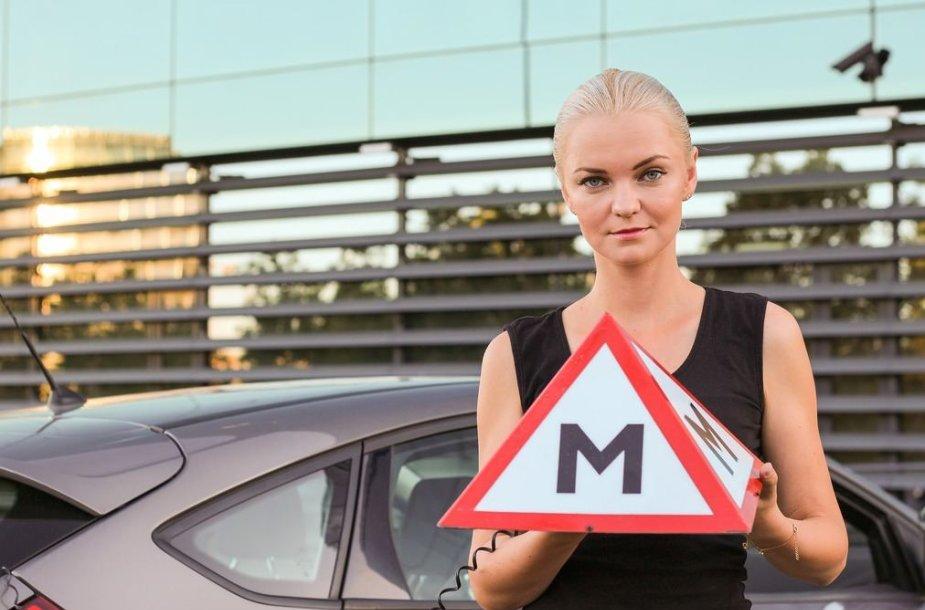 Vairavimo instruktorė Olga Židovlenkova