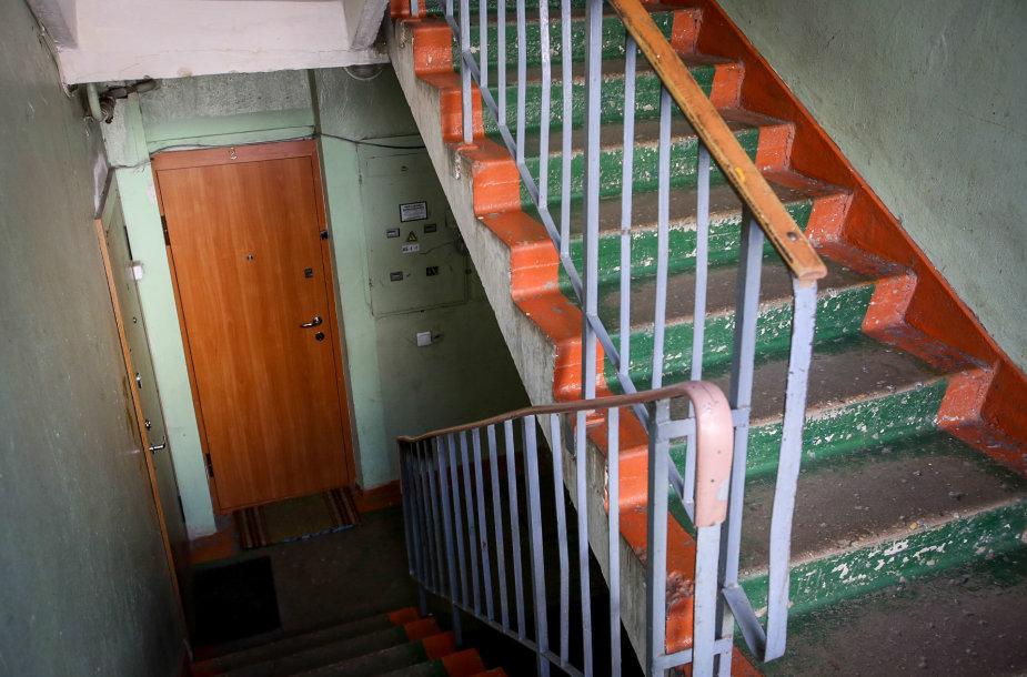 Skroblų g. 31-ojo namo pirmoji laiptinė