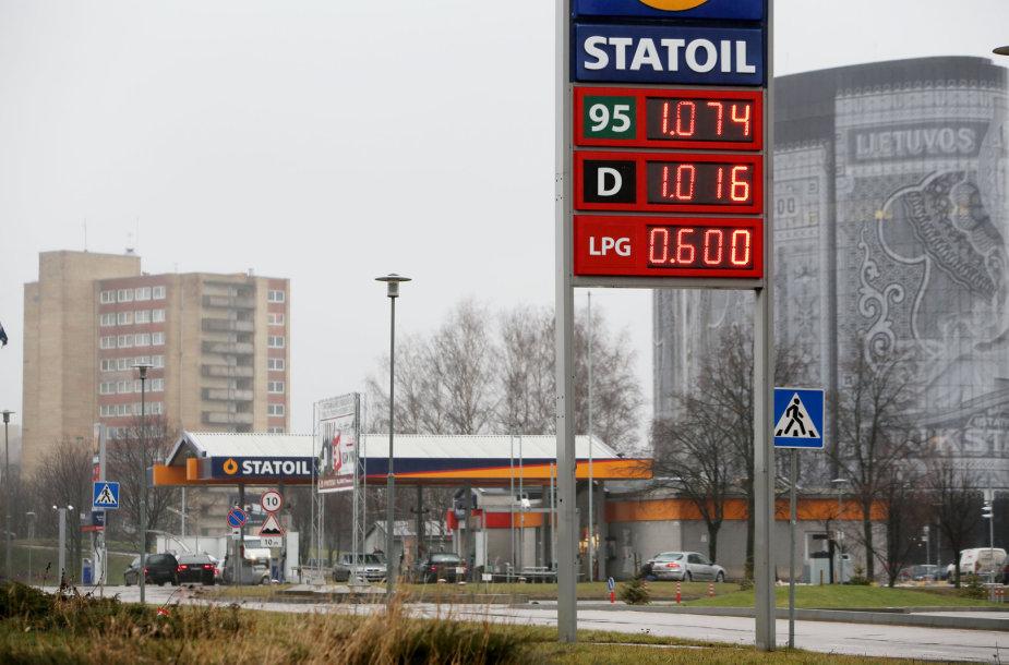 """""""Statoil"""" Pramonės pr."""