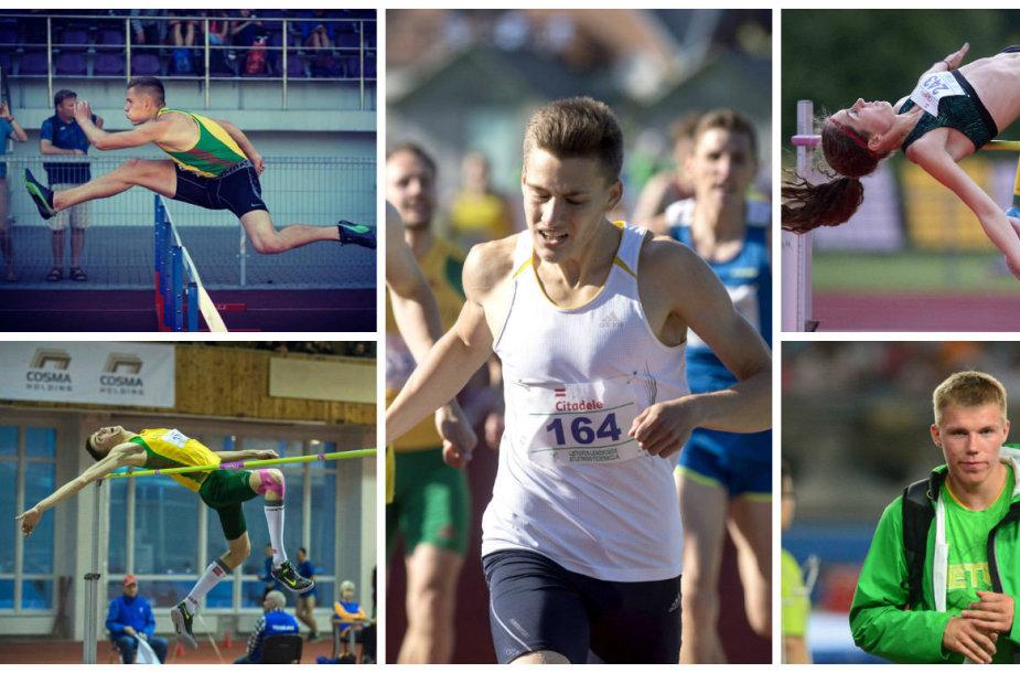 Lietuvos lengvosios atletikos talentai