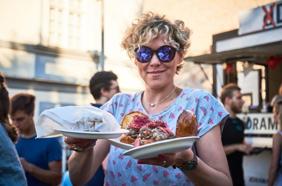 """Vilnius Burger Fest"" akimirka"