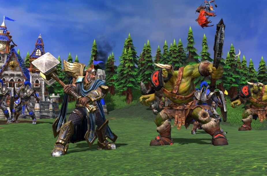 """Warcraft III: Reforged"""