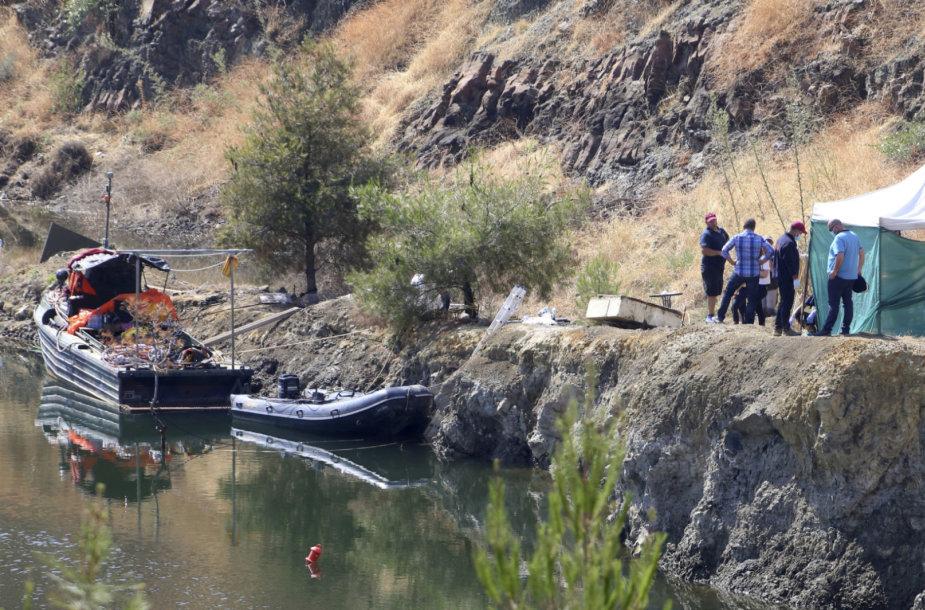 Kipro ežere rasti žudiko maniako septintos aukos palaikai