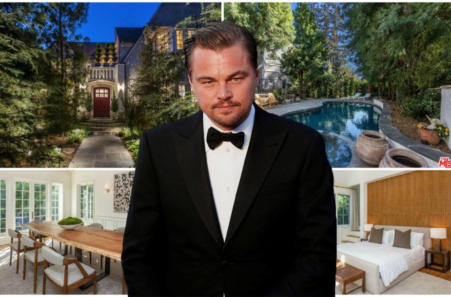 Leonardo DiCaprio nupirko dainininko Moby namus