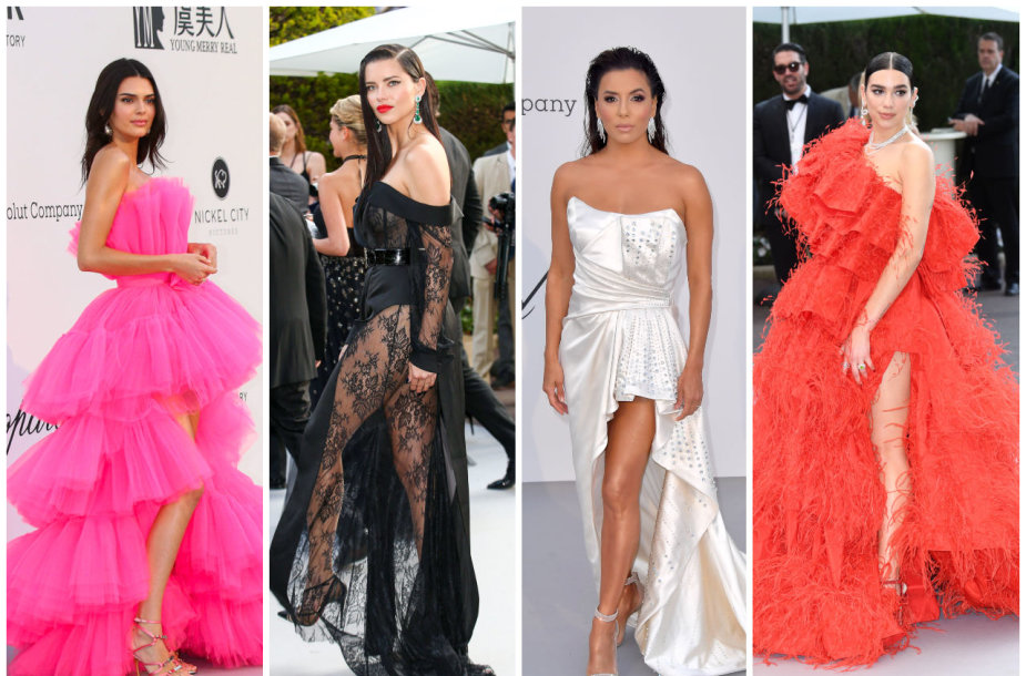 Kendall Jenner, Adriana Lima, Eva Longoria, Dua Lipa