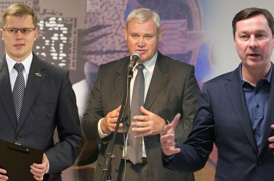 Andrius Kupčinskas, Vytautas Grubliauskas, Artūras Zuokas