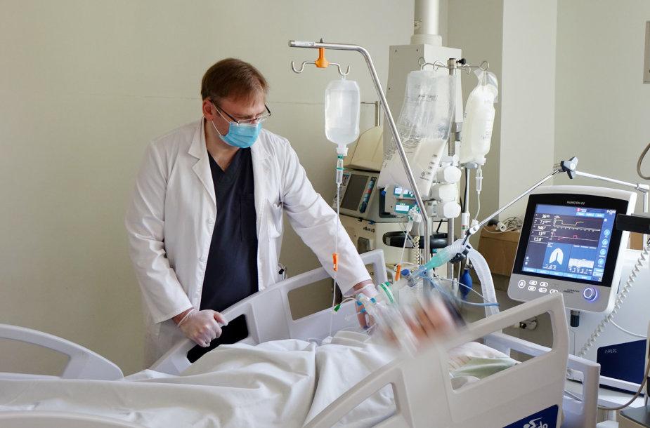 Panevėžio ligoninės gydytojas anesteziologas Arūnas Valikonis