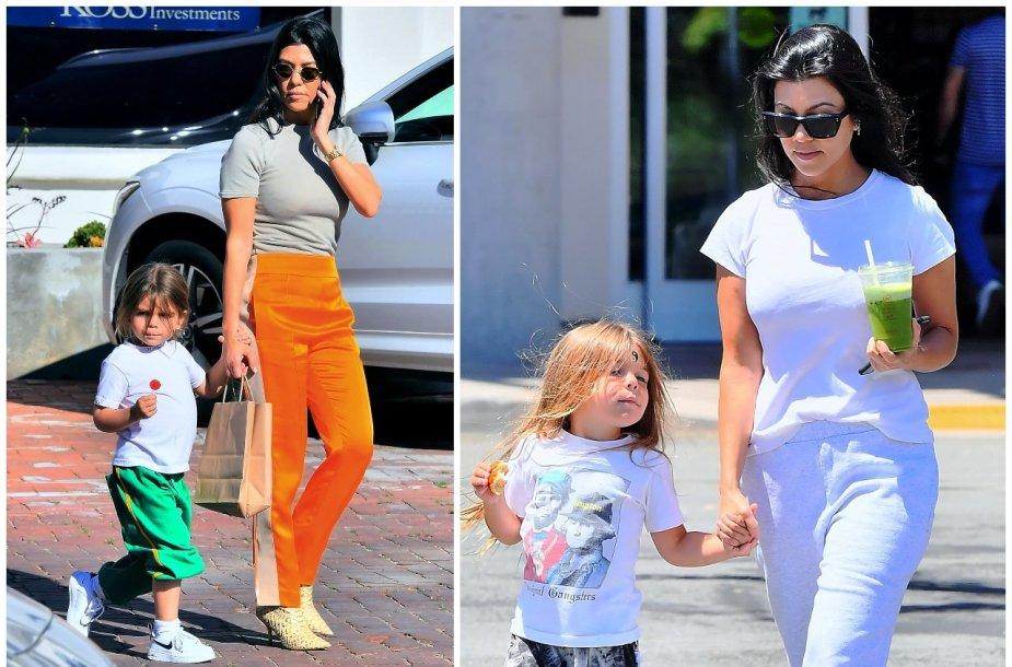 Kourtney Kardashian su sūnumi Reignu Ashtonu Disicku