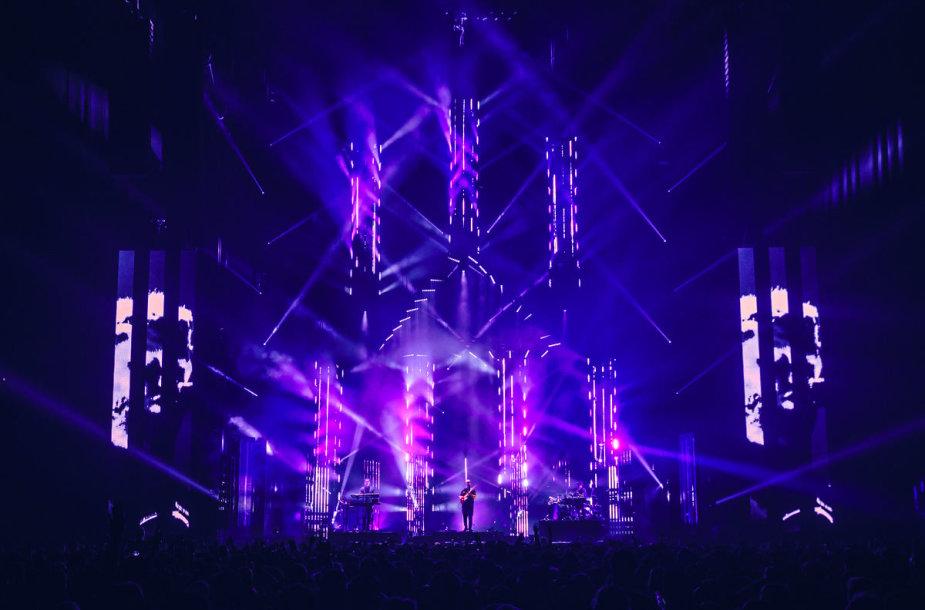 """""""alt-J"""" koncertas O2 arenoje"""