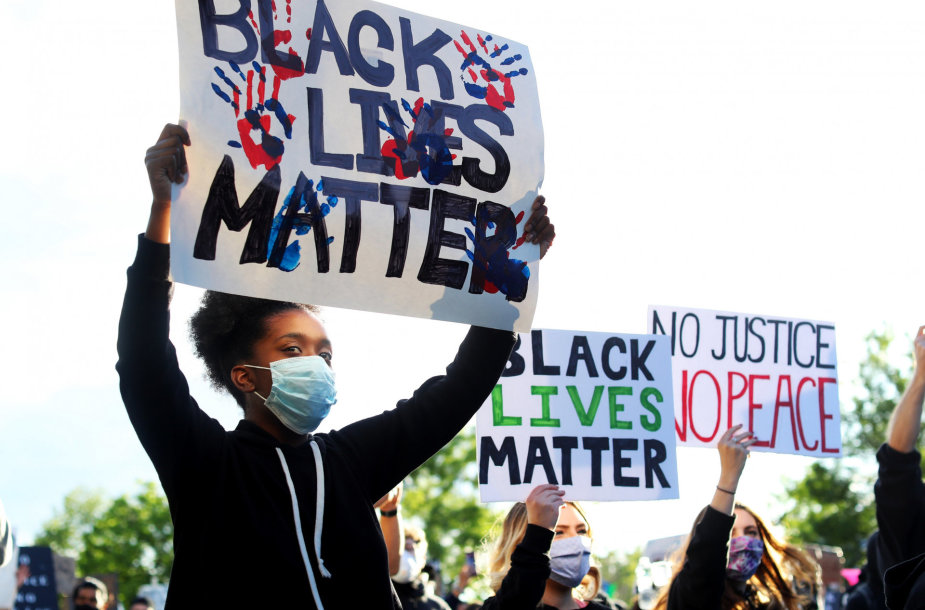 Protestas JAV po George'o Floydo nužudymo