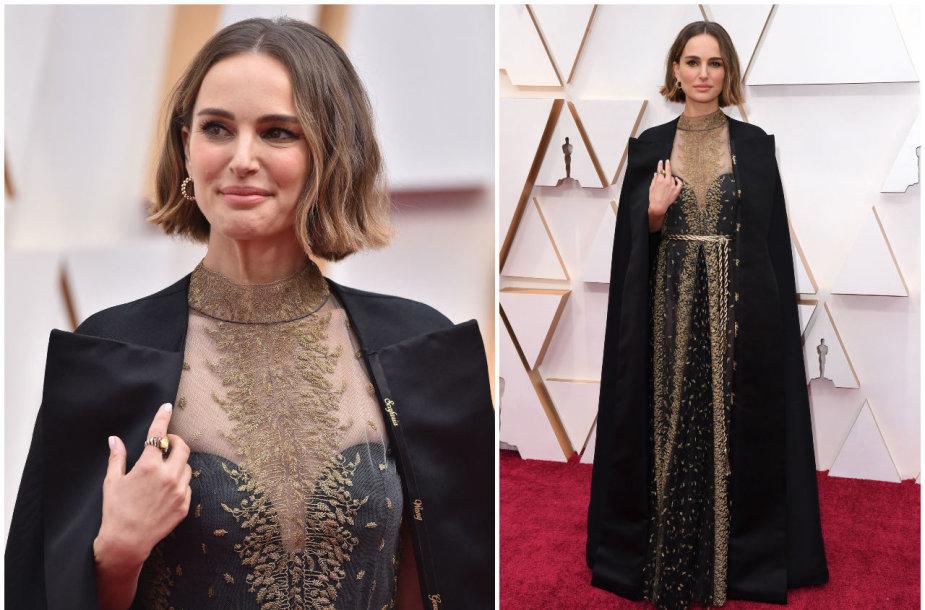 """Natalie Portman 2020 metų """"Oskaruose"""""""