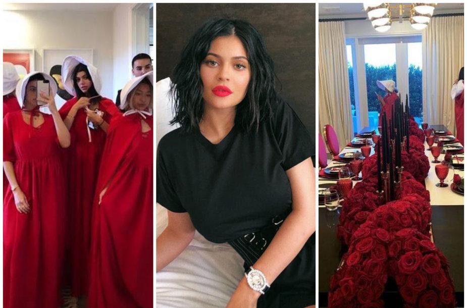 """Kylie Jenner teminis """"Tarnaitės pasakojimo"""" vakarėlis"""