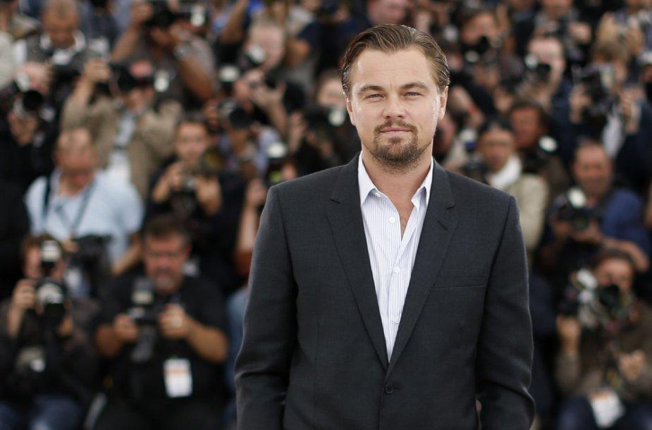 4 vieta: Leonardo DiCaprio – 39 mln. JAV dolerių
