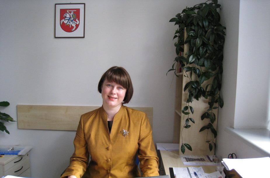 Valstybinės lietuvių kalbos komisijos pirmininke Daiva Vaišnienė