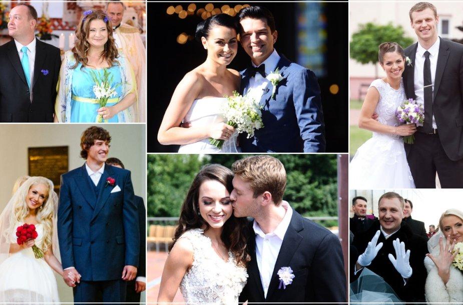 2013-aisiais vykusios garsenybių vestuvės