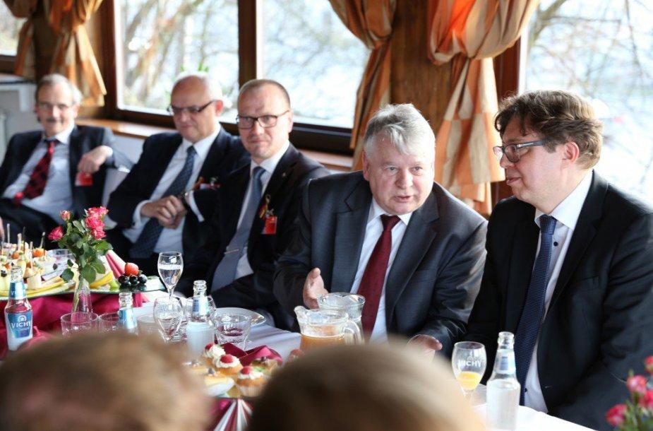 B.Borusewiczius Lenkų diskusijų klube