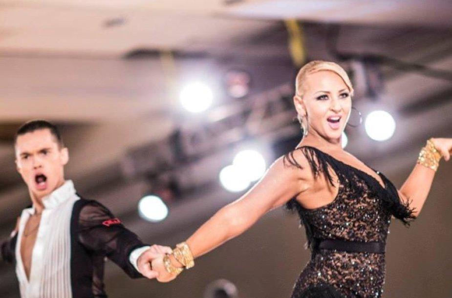 Nikolajus Tarasovas ir Eglė Straleckaitė