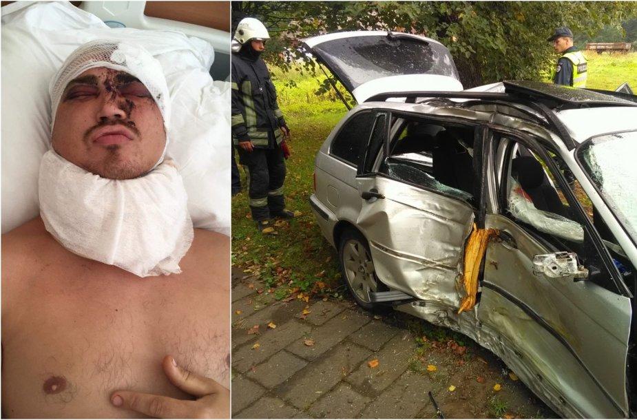 Po Inkaklių kaime įvykusios BMW avarijos nutrūko senų draugų draugystė