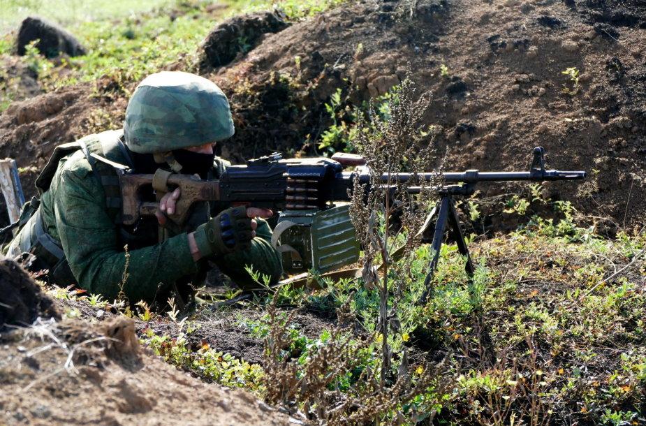 Rusijos separatistai prie Petrovskojo, 2016 metų spalis