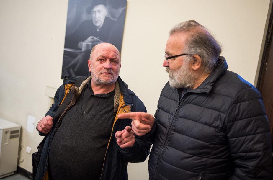 """Algimanto Aleksandravičiaus portretų parodos """"Šimtmečiui šimtas"""" atidarymas"""