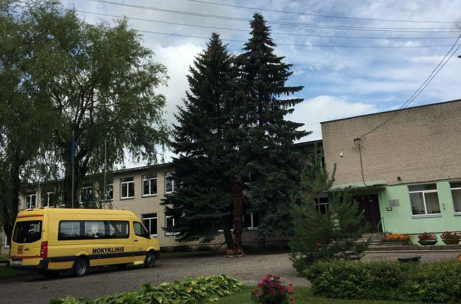 Bagaslaviškio miestelis liko be elektros