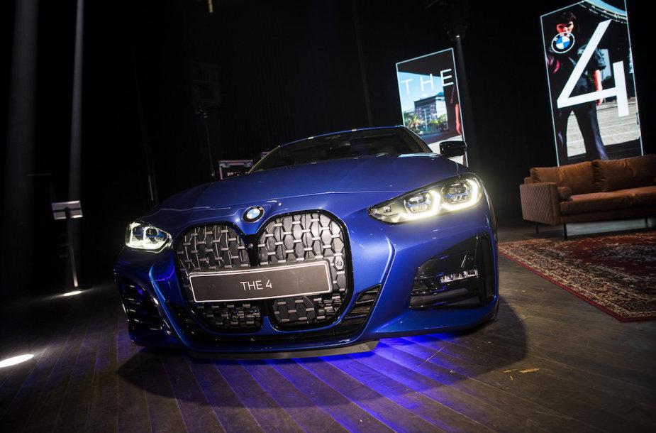 """""""BMW 4"""" pristatymas"""