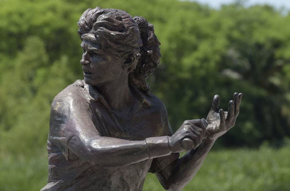 Gabrielos Sabatini paminklas Argentinoje