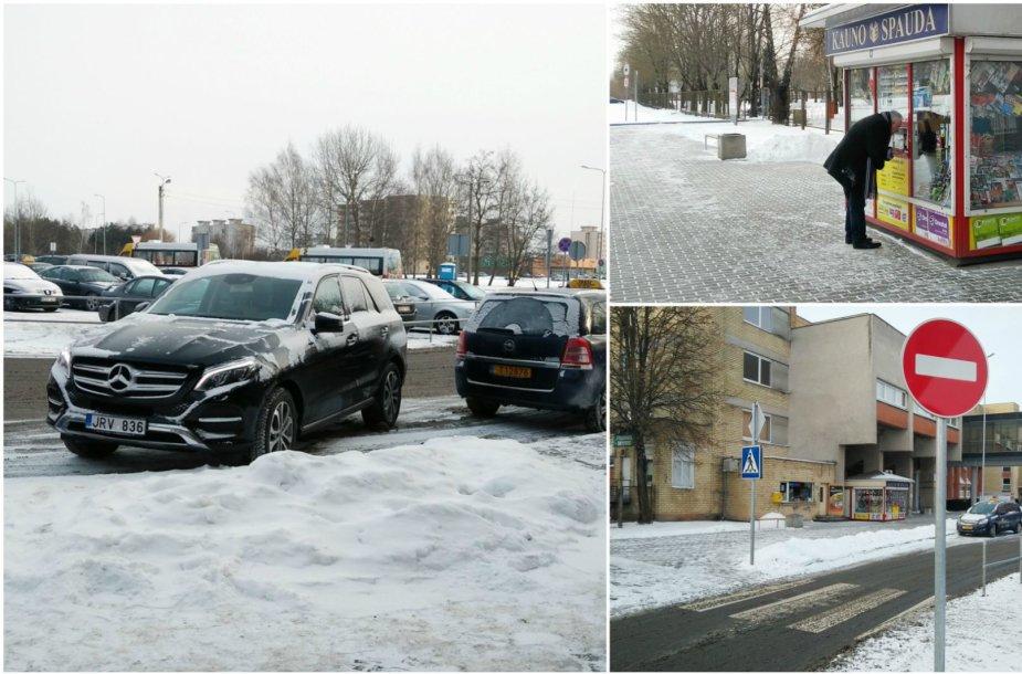 Romaldo Rabačiaus padarytas Kelių eismo taisyklių pažeidimas