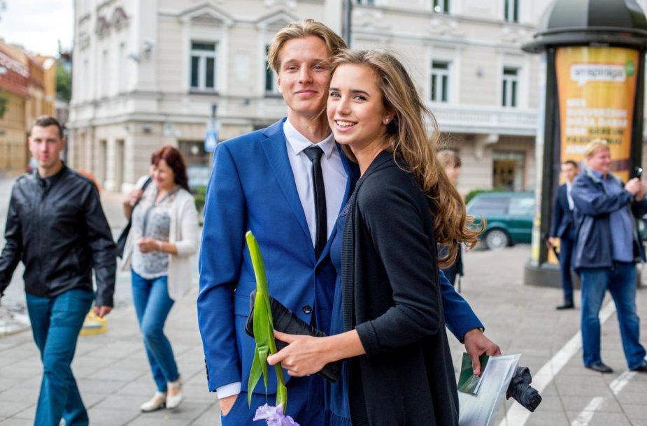 Eglė Jurgaitytė ir Rokas Dambrauskas