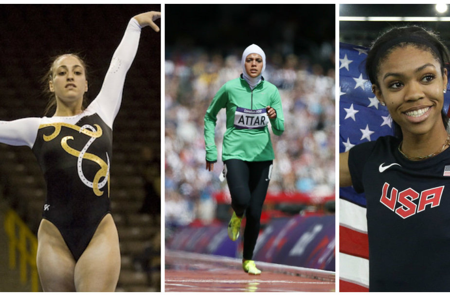 Houry Gebeshian, Sarah Attar ir Vashti Cunningham